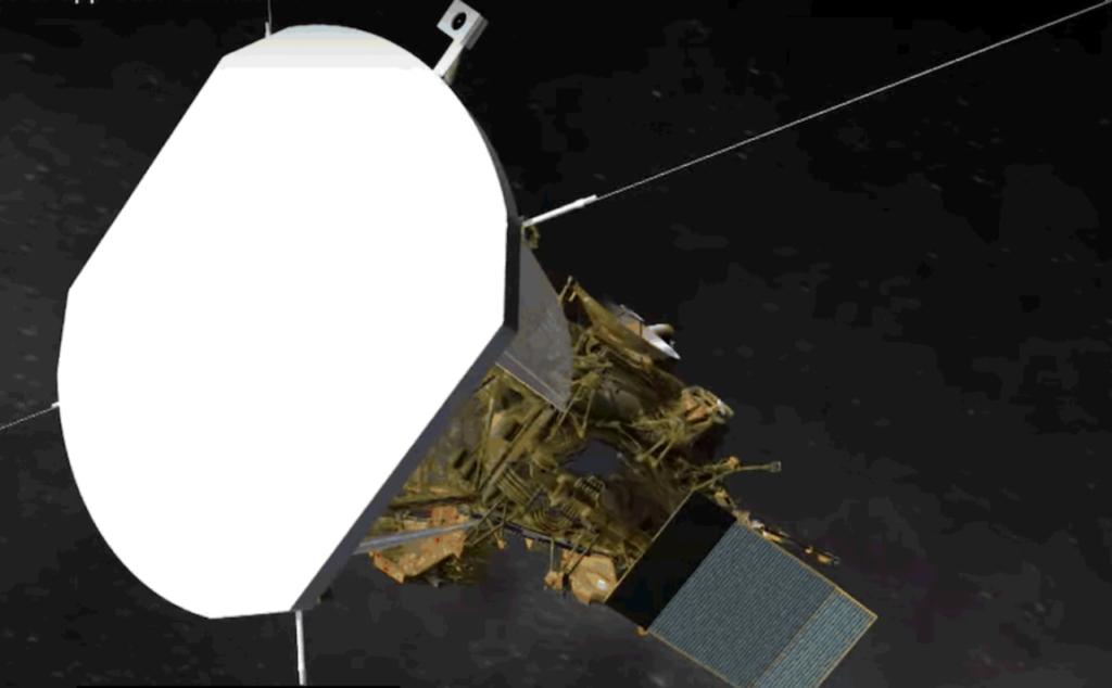 Im Hitzeschild der Parker Solar Probe gibt es keine Öffnungen. Die Instrumente sind dahinter versteckt. Bild: NASA/JHU APL