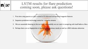 LSTM results for flare prediction coming soon, please ask questions!